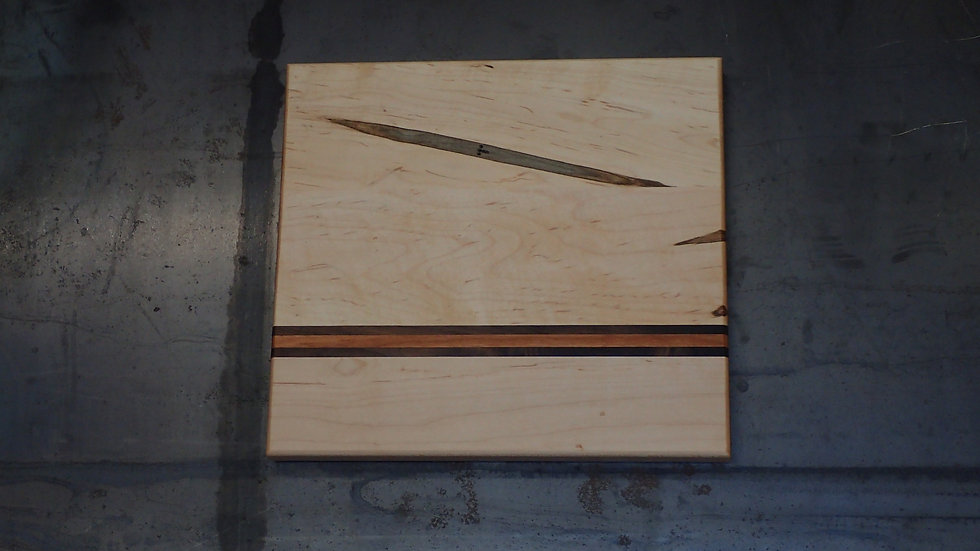 Spalted Maple, Cherry, Walnut Cheese Board