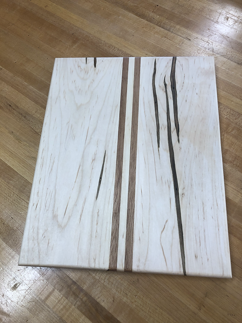Spalted Maple, Mahogany Cheese Board