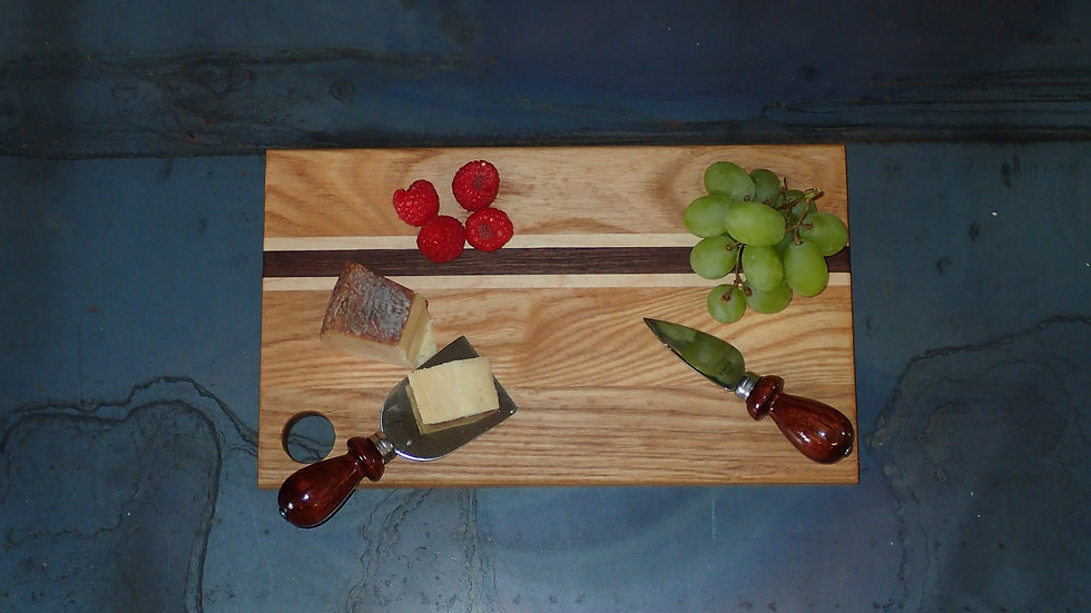 Ash, Maple, And Walnut Cheese Board