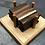 Thumbnail: Walnut And Maple Coaster Set