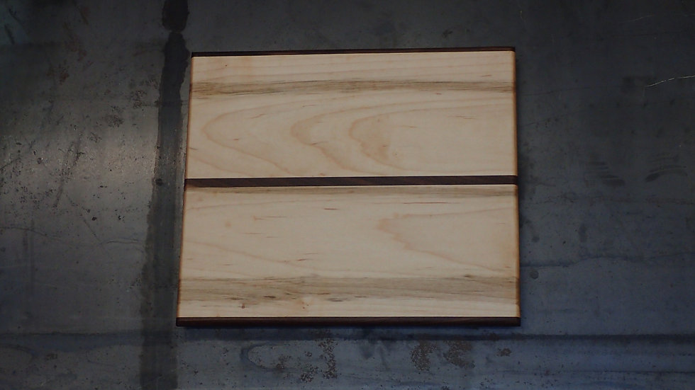Yellow Birch and Walnut Cheese Board