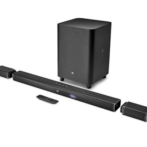 5.1 Channel 4K Ultra HD sound bar with true wireless surround speaker by JBL
