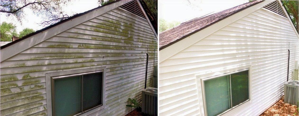 Soft Wash House/Building Wash