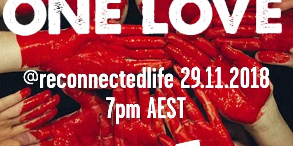 ONE LOVE IG LIVE Global Healing Event