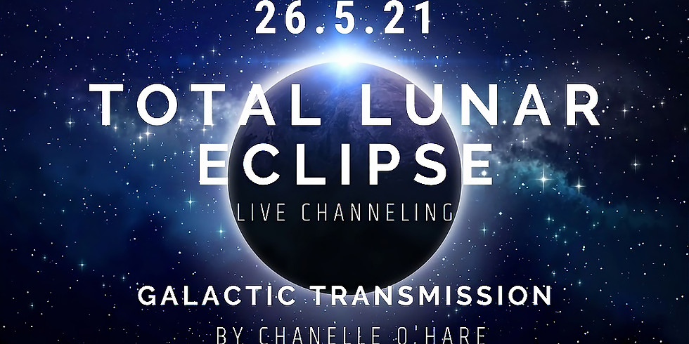 Total Lunar Eclipse Portal and Galactic Transmission