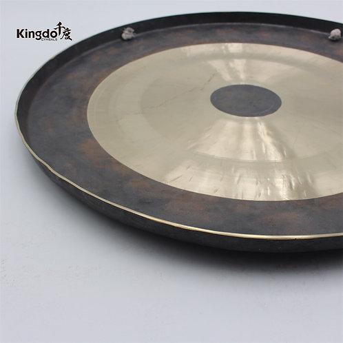 """Kingdo 100% Handmade Bronze Chinese 18"""" Chau Gong"""