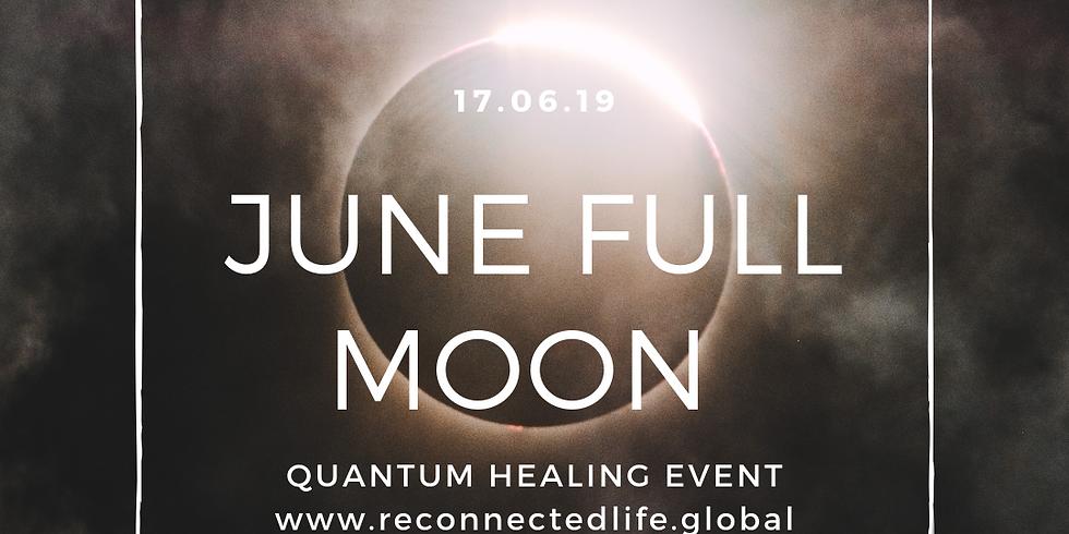 June Full Moon Channeled Quantum Cosmic Upgrade