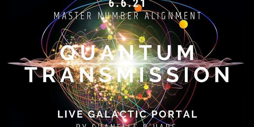 6.6 Portal & Galactic Transmission Sunday