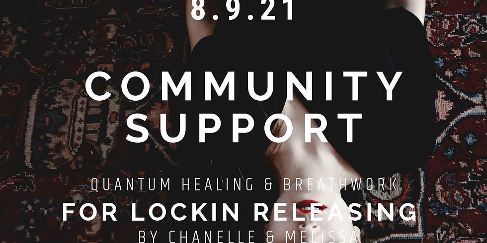 Lockin Support & Healing Community Event