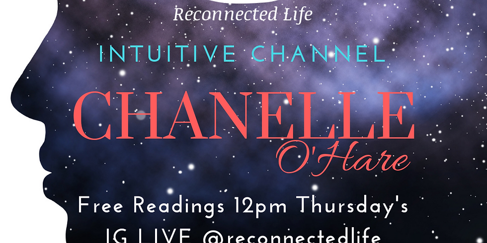 Intuitive Channeling Chanelle O'Hare