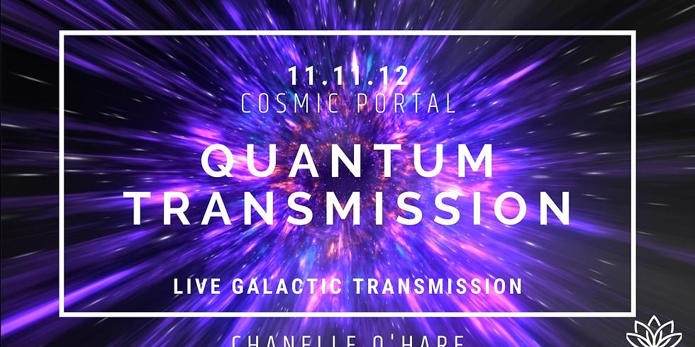 11.11.12 Cosmic Portal Live Transmission