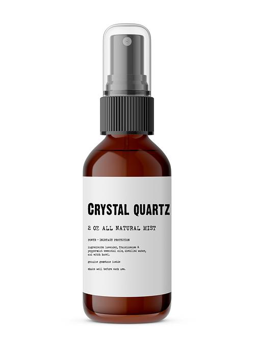 Crystal Quartz Meditation Mist