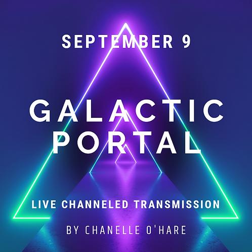 9.9 Portal & Galactic Transmission