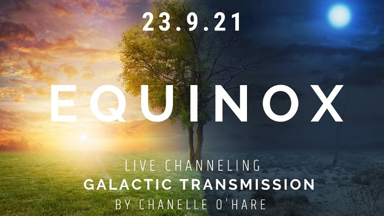September Equinox Portal and Galactic Transmission