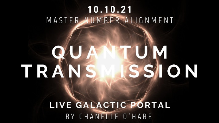 10.10 Portal & Galactic Transmission Sunday