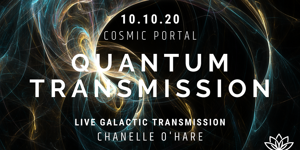 10.10 Portal & Galactic Transmission Saturday (event held 10.10am AEST)