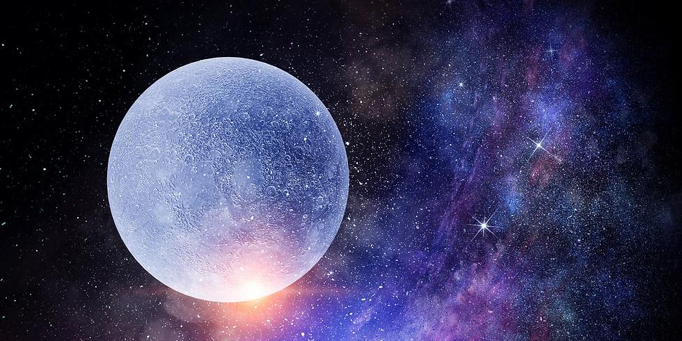 October Full Moon Channeled Quantum Cosmic Upgrade