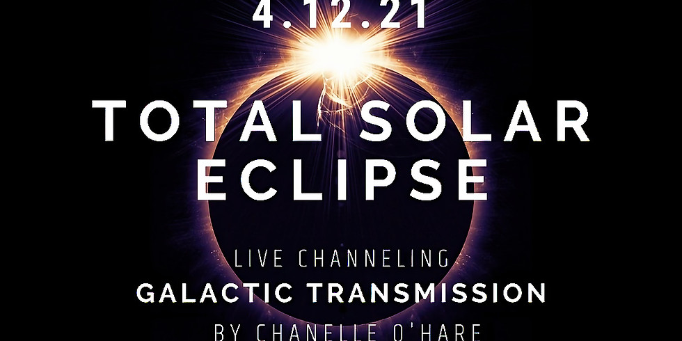 Total Solar Eclipse Portal and Galactic Transmission