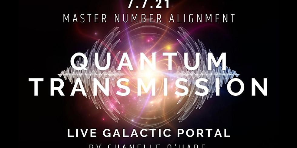 7.7 Portal & Galactic Transmission Wednesday