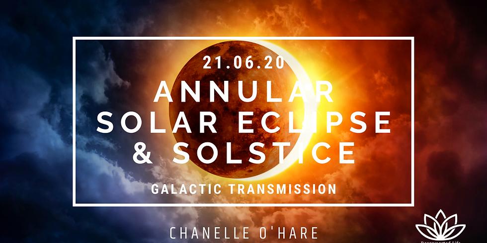 Annular Solar Eclipse Portal & June Solstice