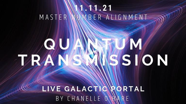 11.11 Portal & Galactic Transmission Thursday