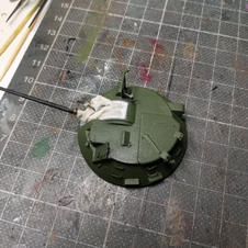 Armed turret