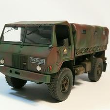 TAM 110, 1/35 scale, made by Uros Kovac