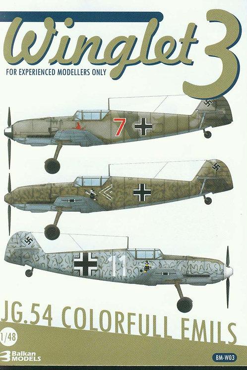 JG.54 COLORFULL EMILS