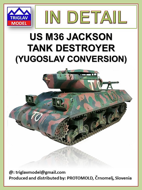 US M-36 Jackson  Tank Destroyer IN DETAIL