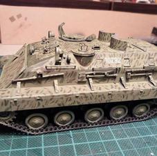 APC M-60P, 1/35 scale, Made by Aleksandar Mladenovic
