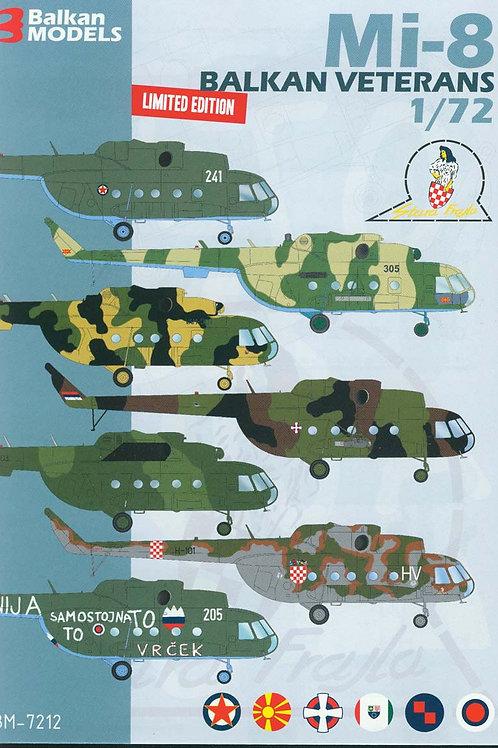 Mi-8 BALKAN VETERANS