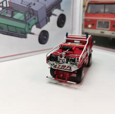 TAM 110 Fire-truck, 1/87 scale made by Predrag Hluchy