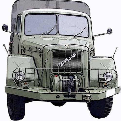TAM 5000 DV Yugoslav military truck