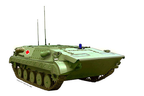 Yugoslav APC M-80Sn MedEvac