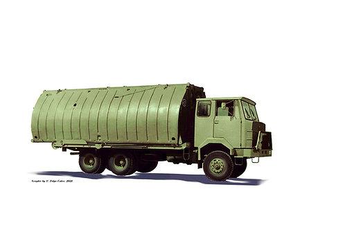 FAP 2220 BDS/A truck w/pontoon