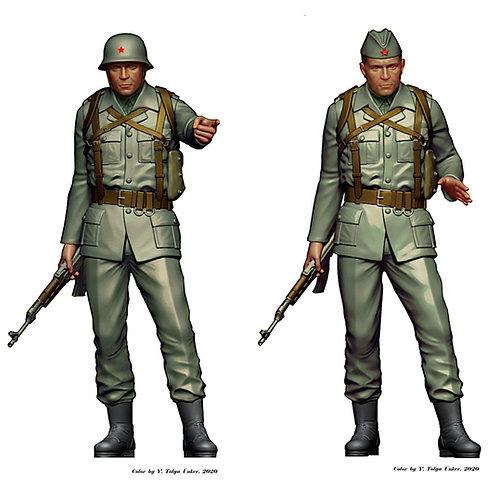 YPA corporal - multivariant figure