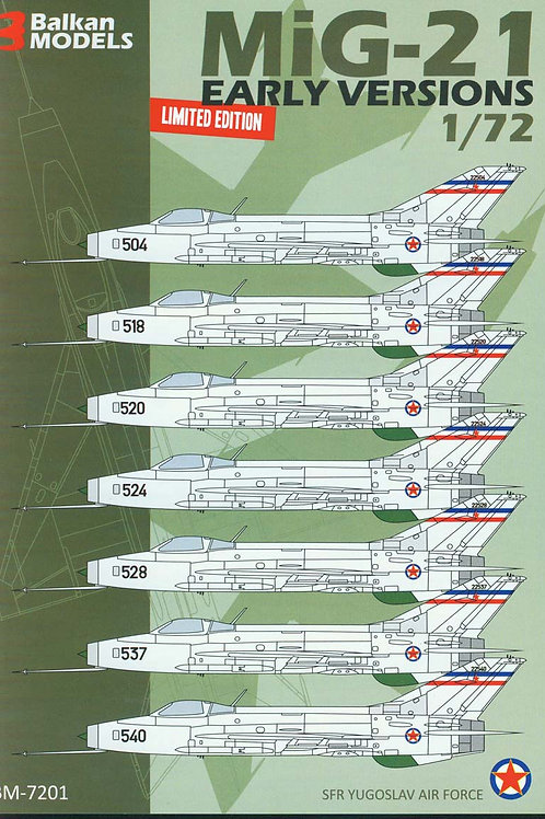 MiG-21 EARLY VERSIONS