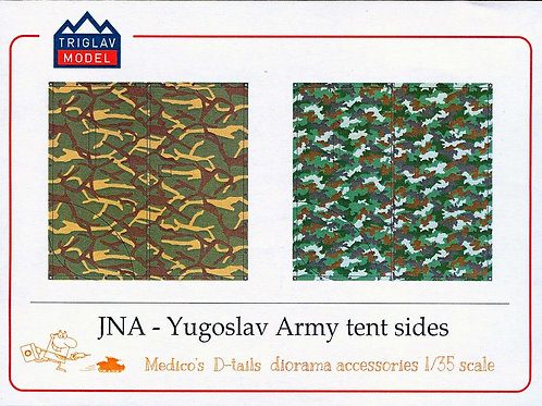YPA Army tent's