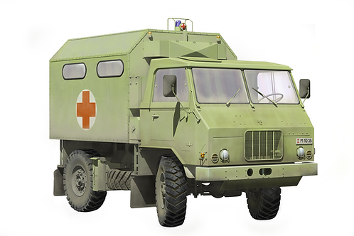 TAM 110 Yugoslav military MedEvac truck