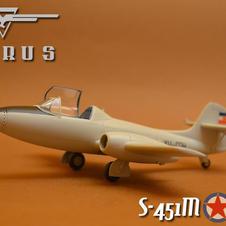 "IKARUS S-451m ""Zolja"", 148 scale, made by Aleksandar Mladenovic"