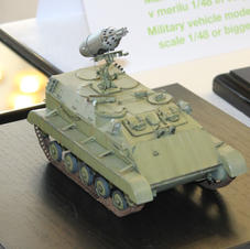 APC M-60P w/launcher, 1/35 scale, Made by Aleksandar Mladenovic
