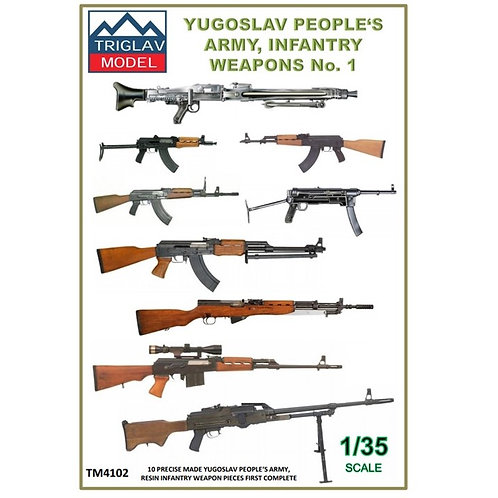 YPA Infantry weapon's No.1