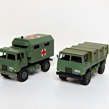TAM 110 & TAM 110 MedEvac, 1/87 scale made by Leo-Sini Roudi