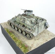 APC M-60PB, 1/35 scale, made by Kamil Knapik