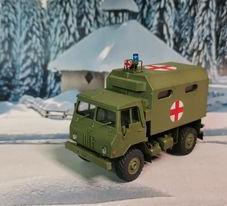 TAM 110 MedEvac, 1/87 scale made by Predrag Hluchy