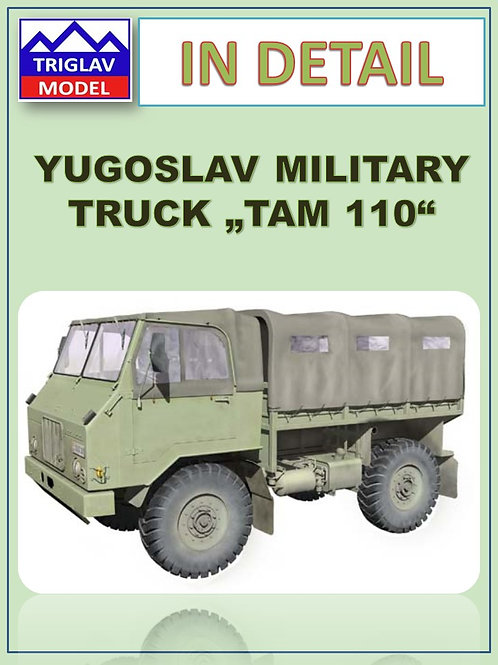 TAM 110, YUGOSLAV MILITARY TRUCK