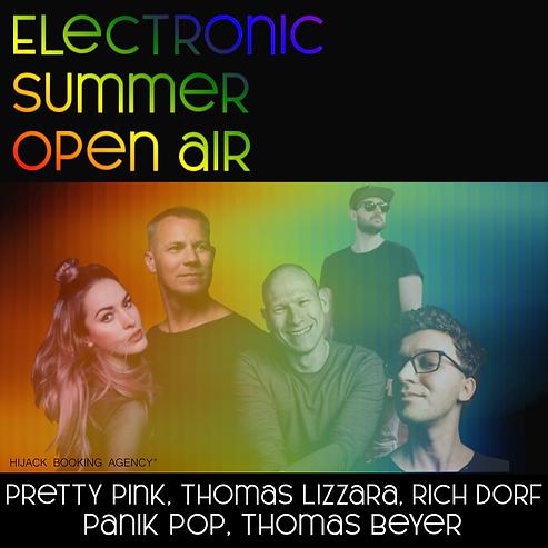 Reservix Electronic Summer Open Air NEW.