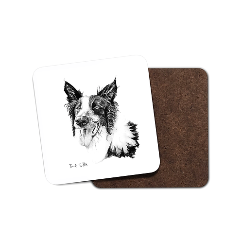 Border Collie - Coaster