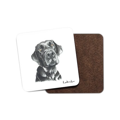 Black Labrador - Coaster