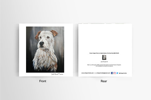 Jack Russell - Art Card